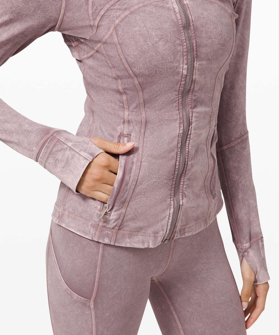 Lululemon Define Jacket *Ice Dye - Ice Wash Violet Verbena