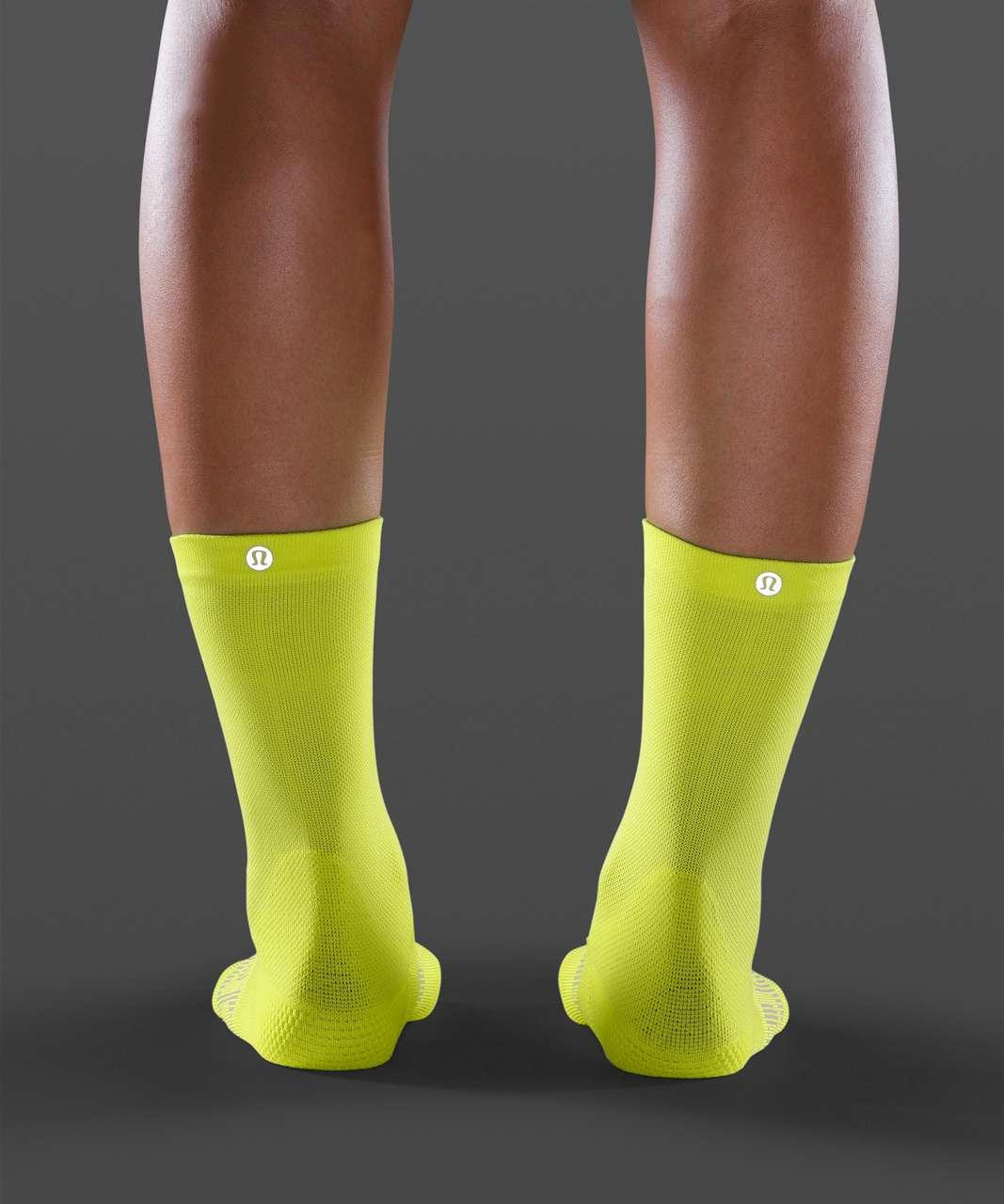 Lululemon Power Stride Crew Sock - Highlight Yellow