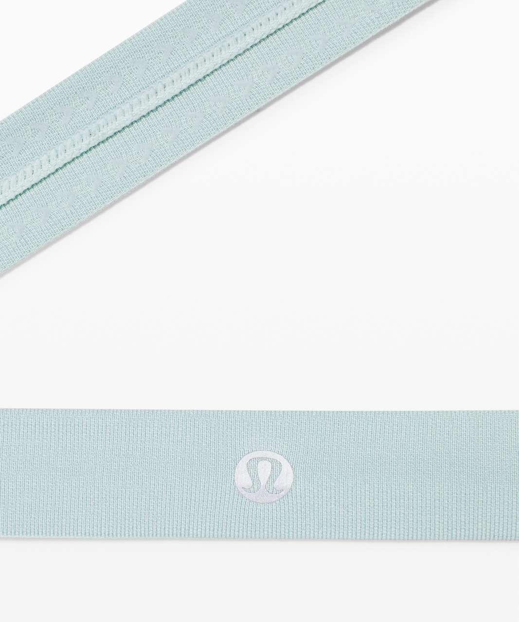 Lululemon Cardio Cross Trainer Headband - Hazy Jade