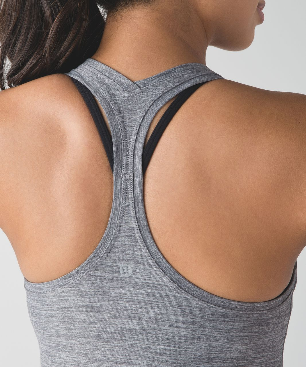 Lululemon Cool Racerback II - Heathered Slate