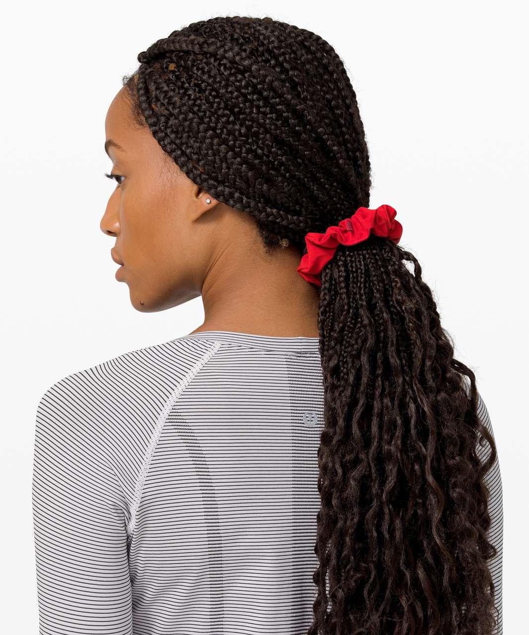 Lululemon Uplifting Scrunchie - Dark Red