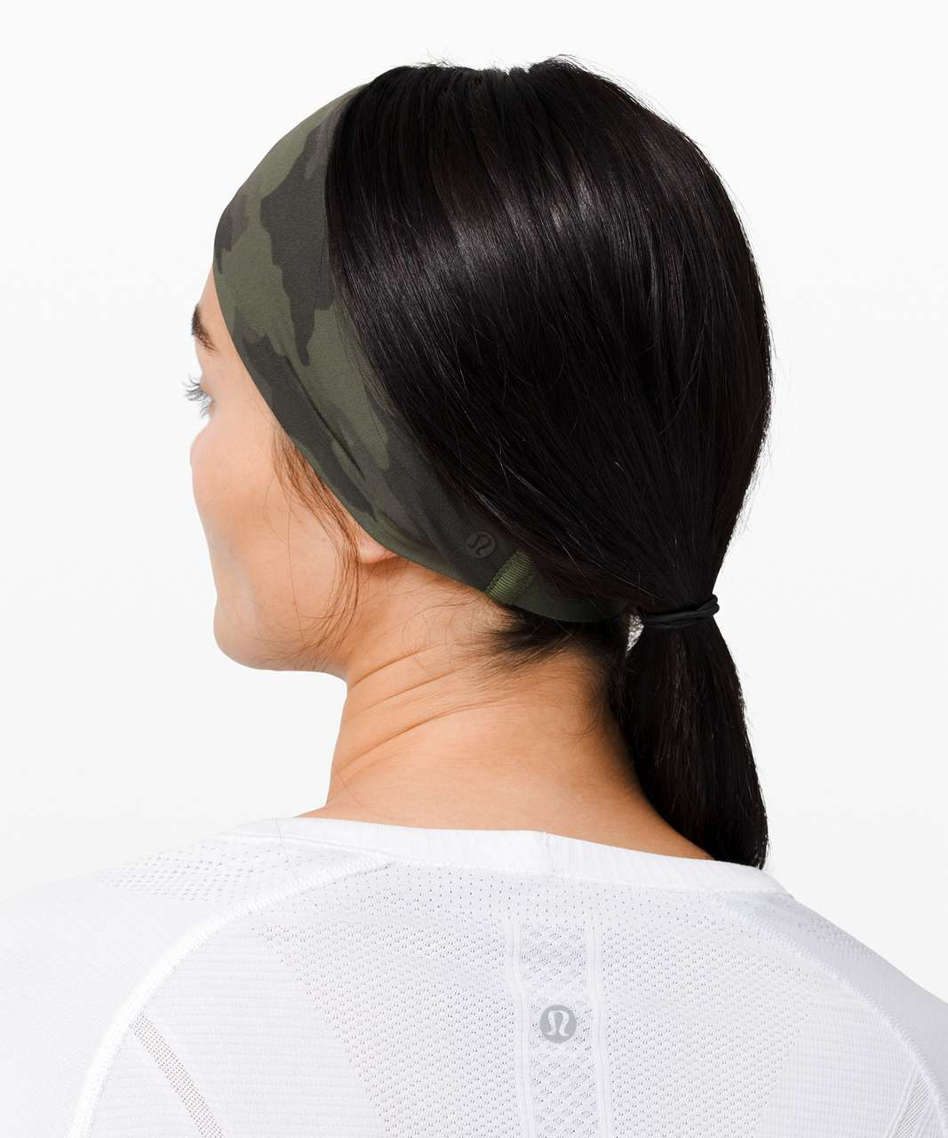 Lululemon Fringe Fighter Headband - Heritage 365 Camo Green Twill Multi