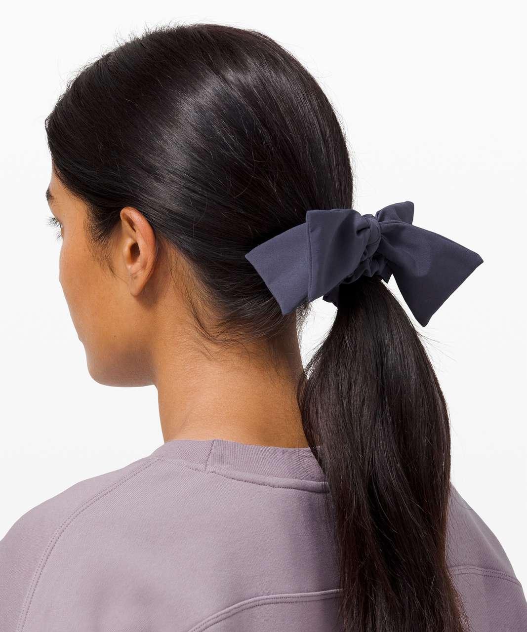 Lululemon Uplifting Scrunchie *Ribbon - Cadet Blue