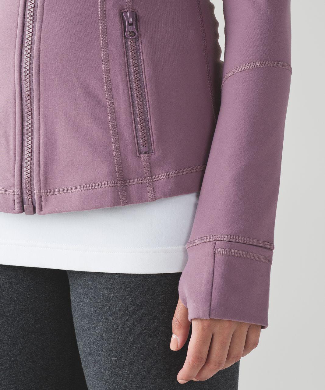 Lululemon Define Jacket - Dusty Mauve
