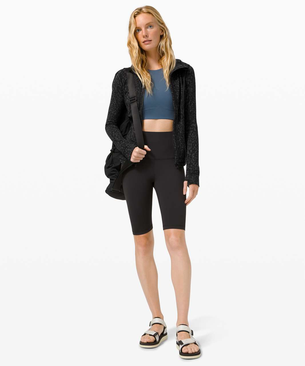 Lululemon Hooded Define Jacket *Nulu - Wild Thing Camo Deep Coal Multi
