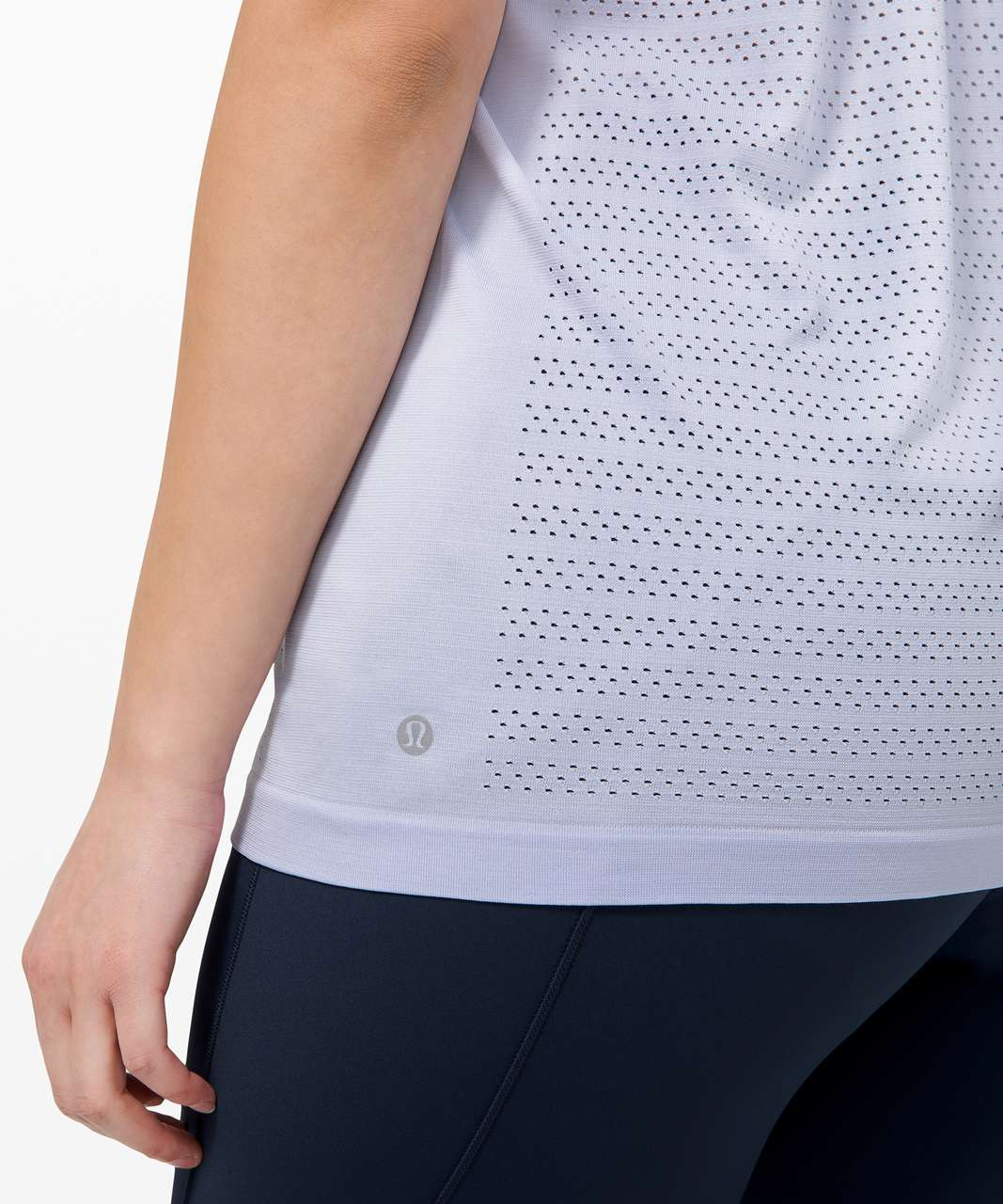 Lululemon Swiftly Breathe Short Sleeve *Squad - Serene Blue / Serene Blue