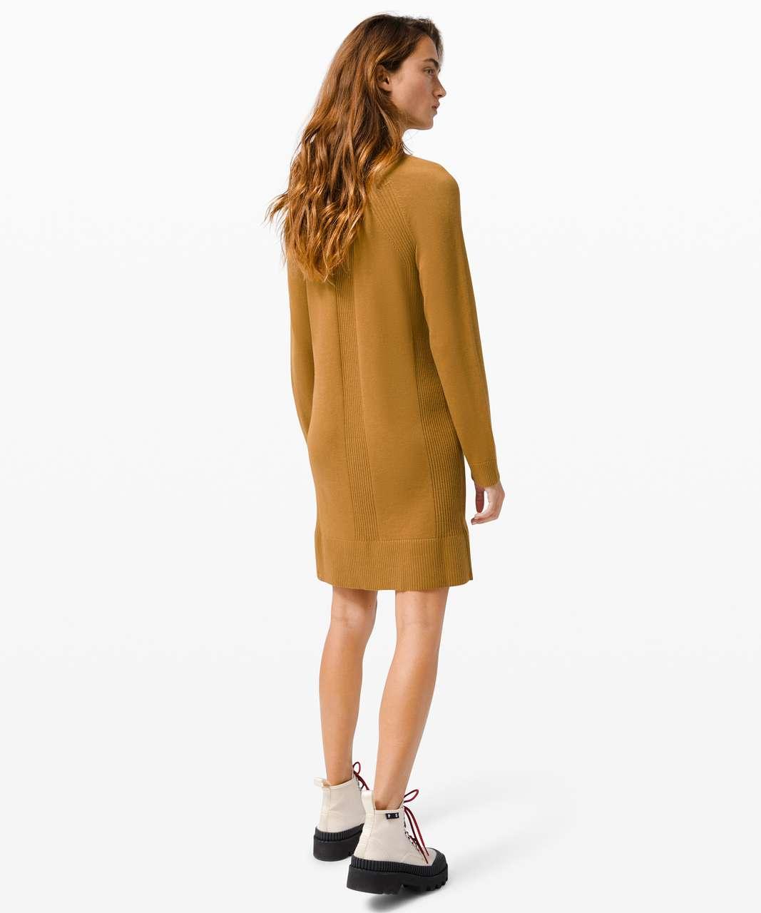 Lululemon Keep it Cozy Dress - Spiced Bronze