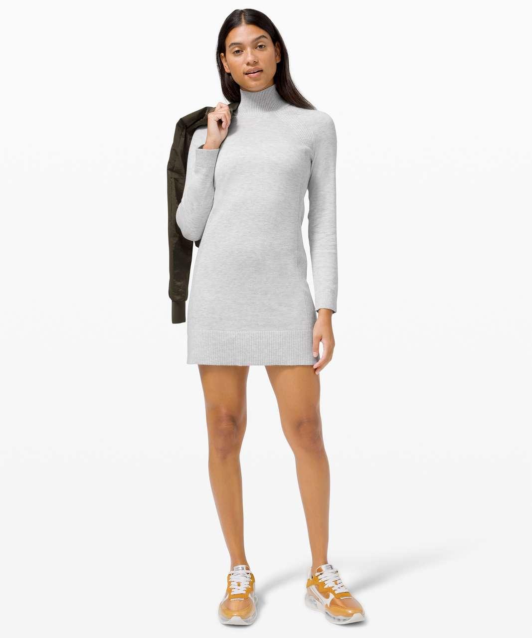 Lululemon Keep it Cozy Dress - Heathered Core Ultra Light Grey