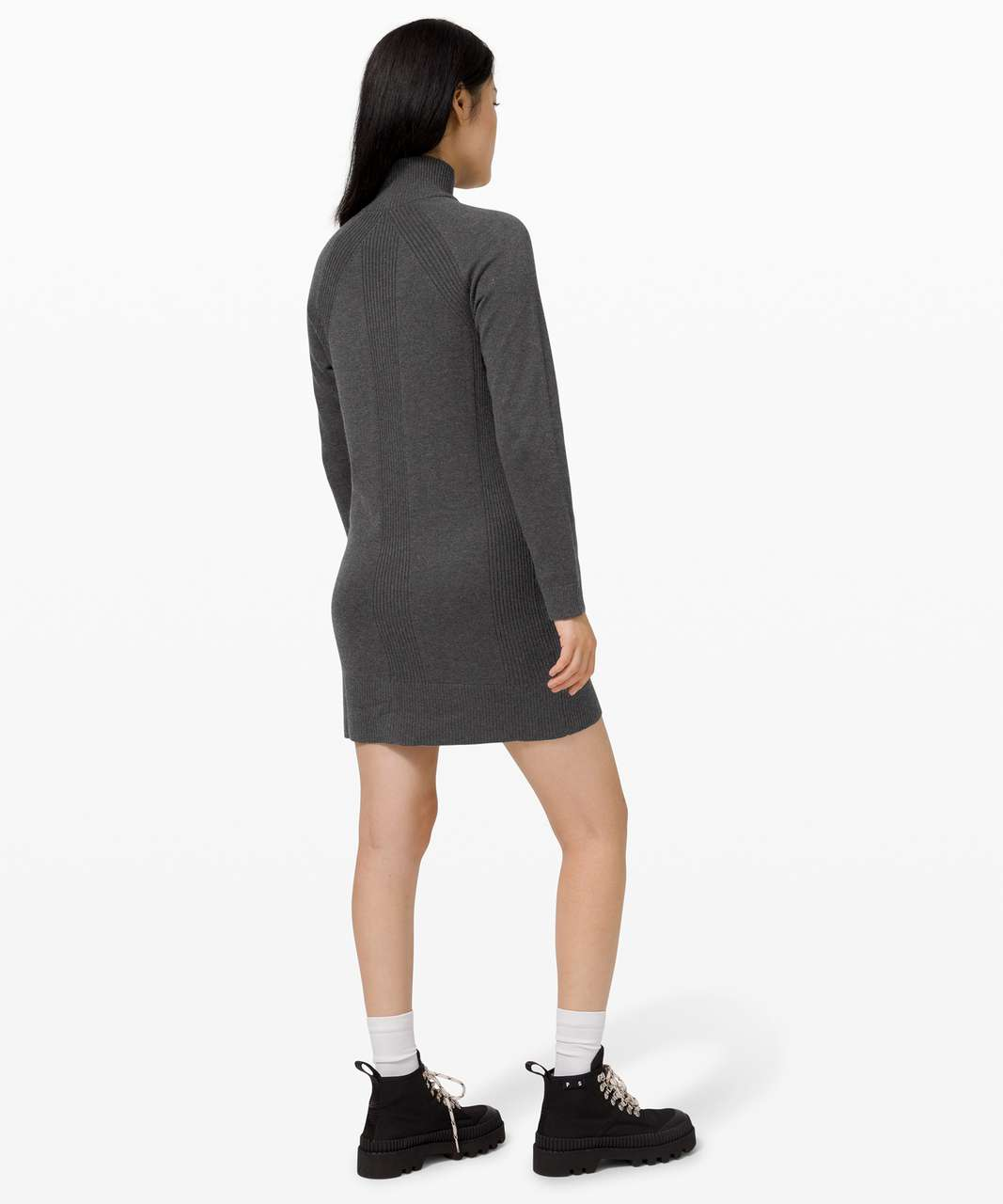 Lululemon Keep it Cozy Dress - Graphite Grey