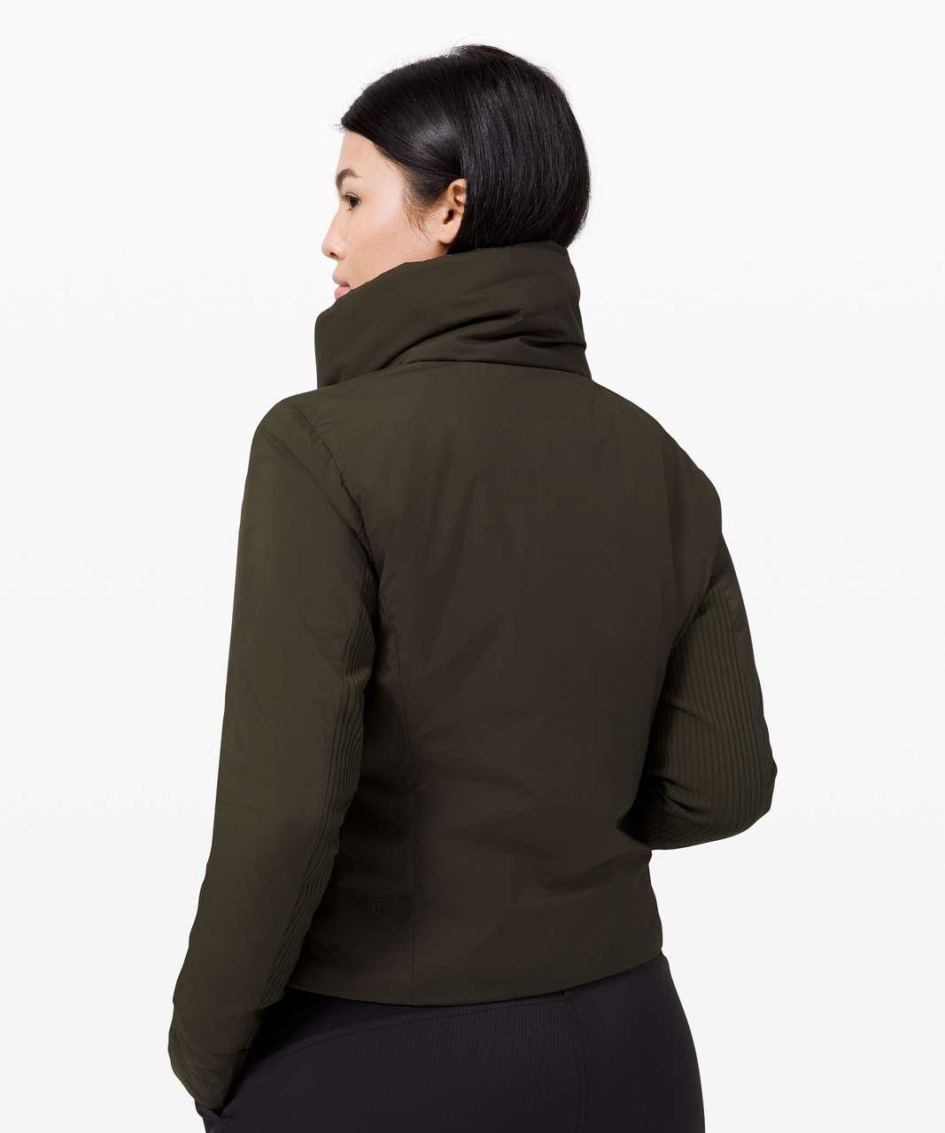 Lululemon Sleek City Jacket - Dark Olive