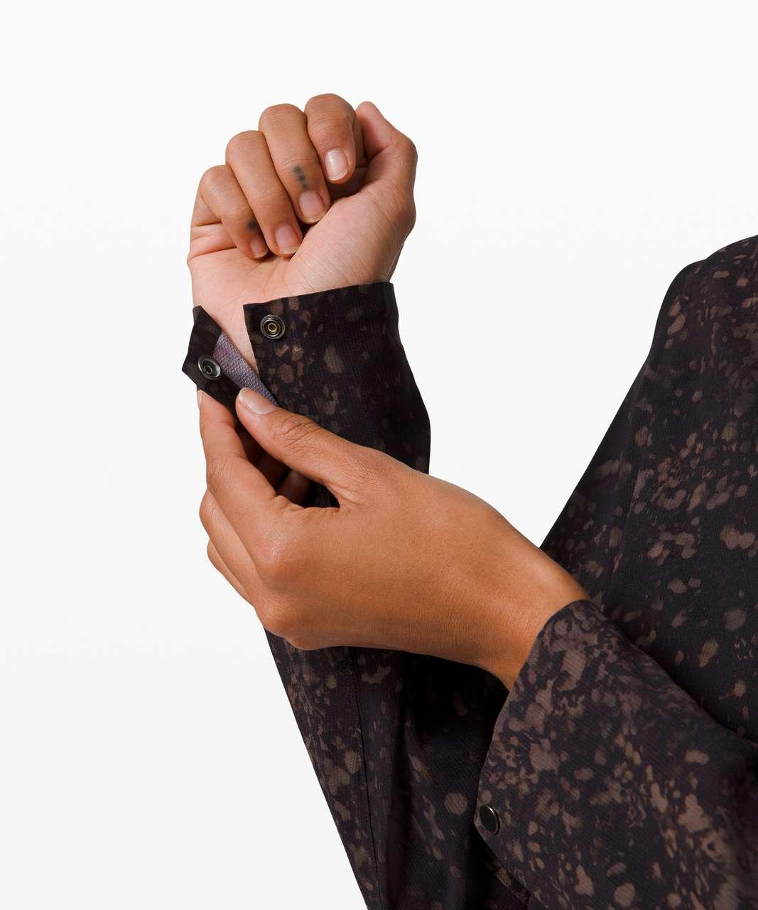Lululemon Azal Long Sleeve *lululemon lab - Planet Surface Ashen Rose Multi