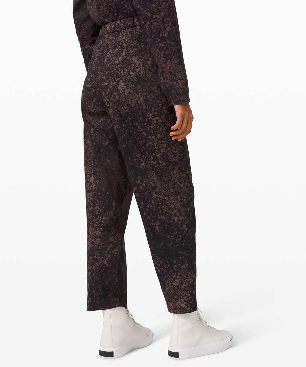 Lululemon Azal Jogger Print *lululemon lab - Planet Surface Ashen Rose Multi