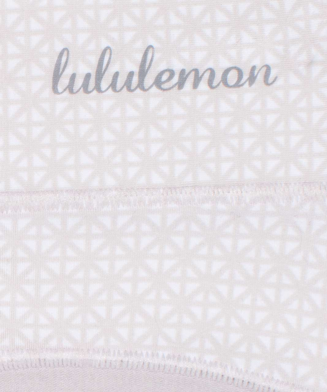 Lululemon Soft Breathable Bikini *3 Pack - Black / Misty Shell / Lattice Work Mini White Chrome