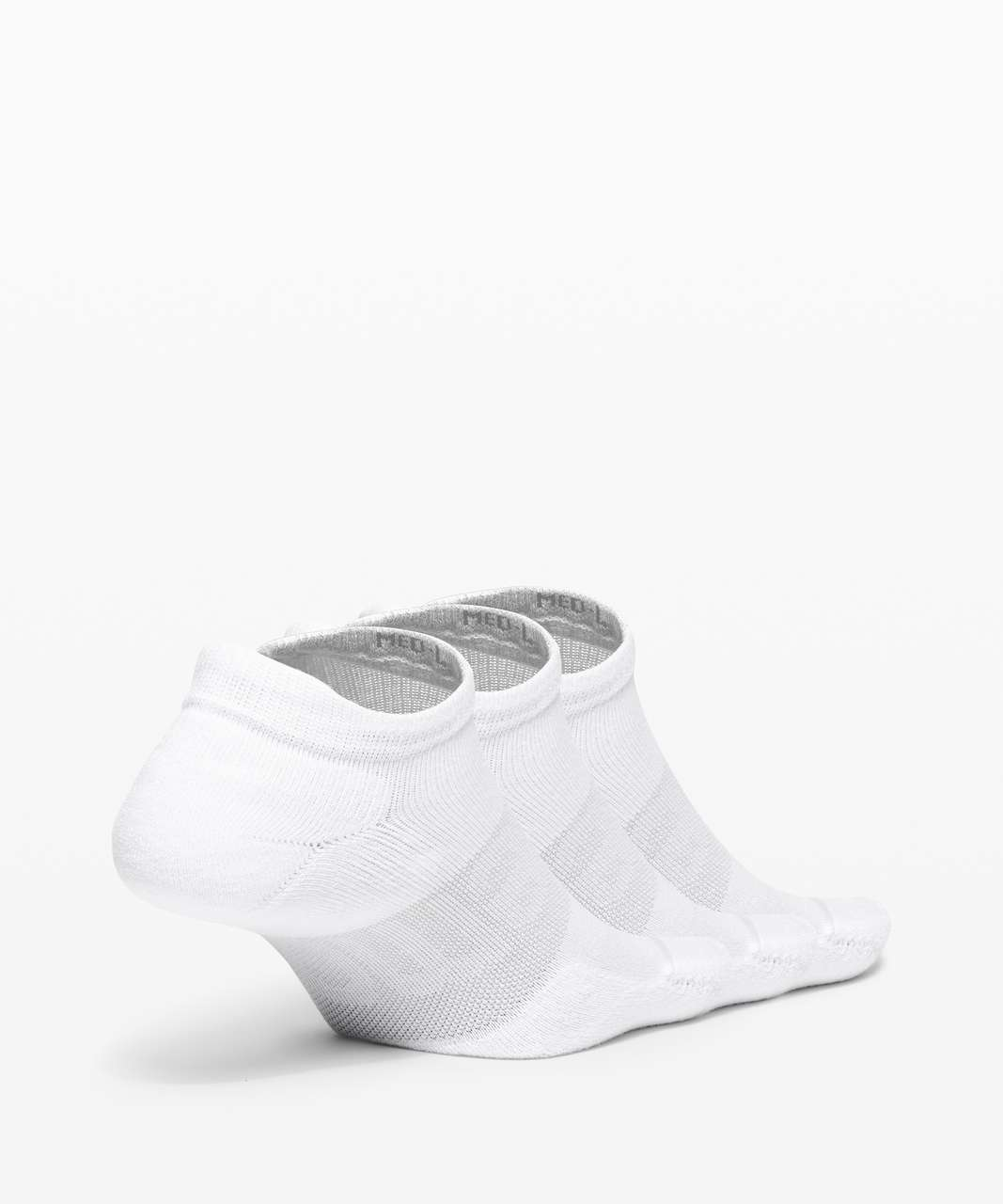 Lululemon Daily Stride Low Ankle Sock *3 Pack - White