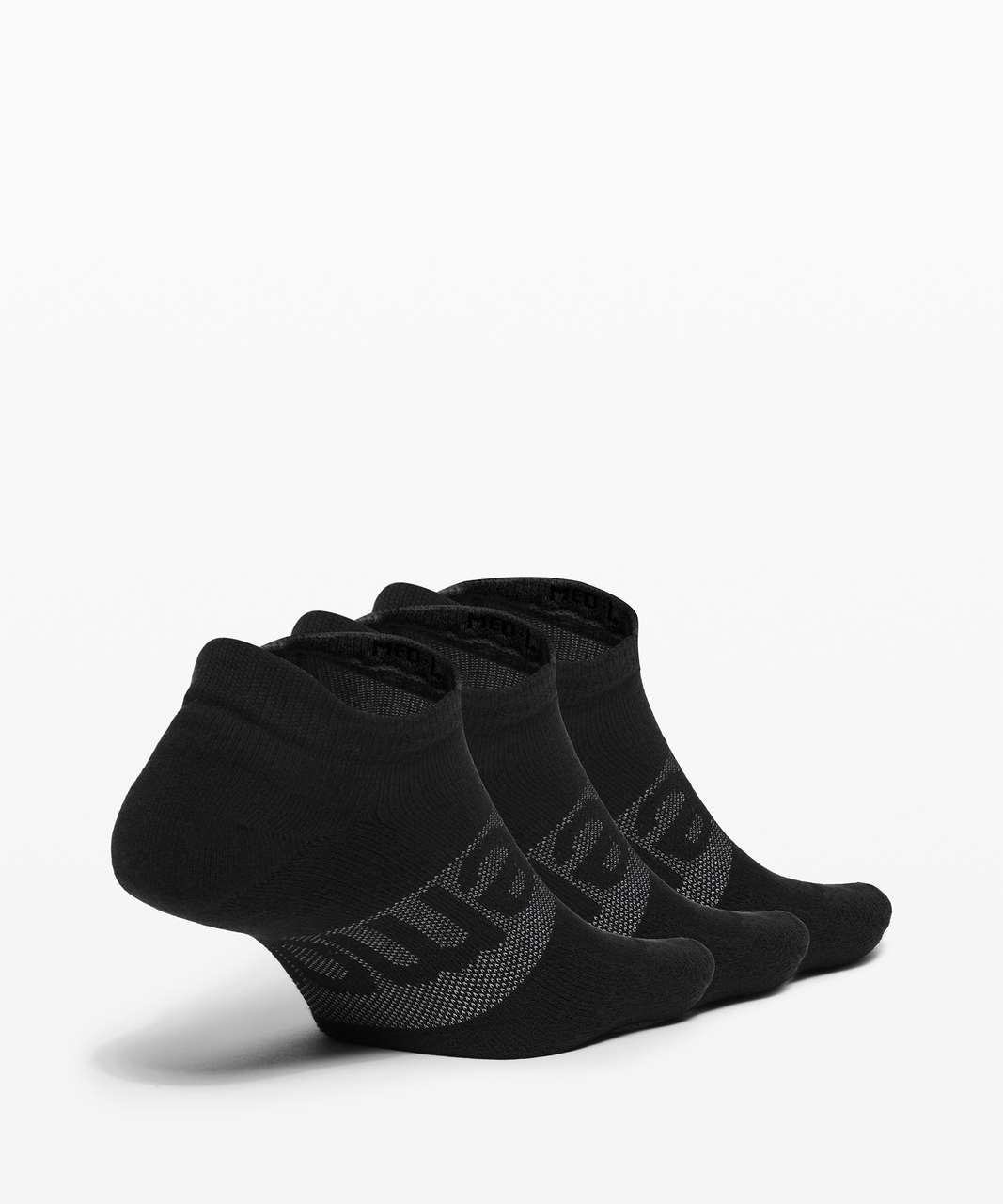 Lululemon Daily Stride Low Ankle Sock *3 Pack - Black
