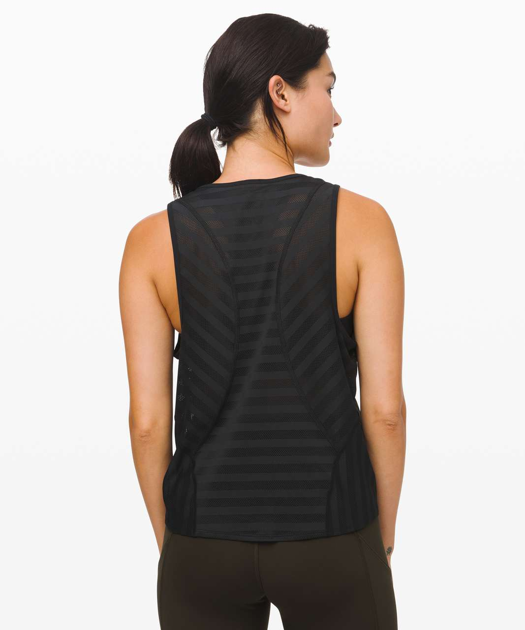 Lululemon Off and Running Tank - Black