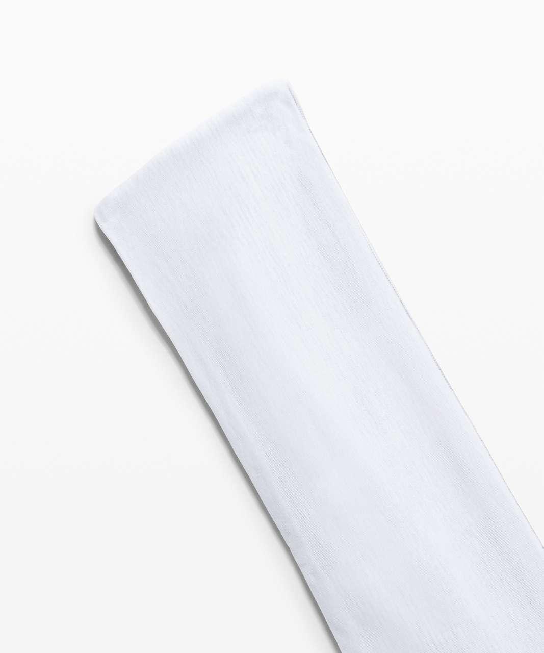 Lululemon Fringe Fighter Headband - Wee Are From Space Nimbus Battleship / White