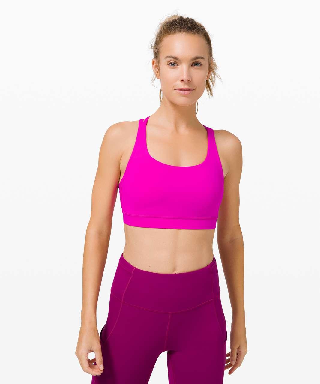 Lululemon Energy Bra *Medium Support, B–D Cup - Highlight Purple
