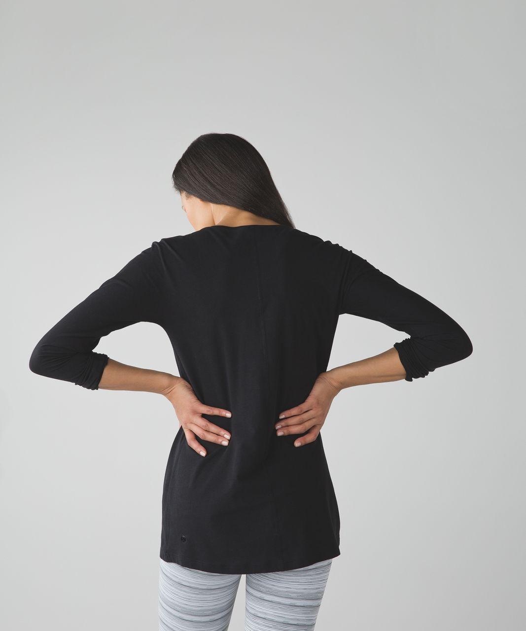 Lululemon Trapeze Long Sleeve - Black