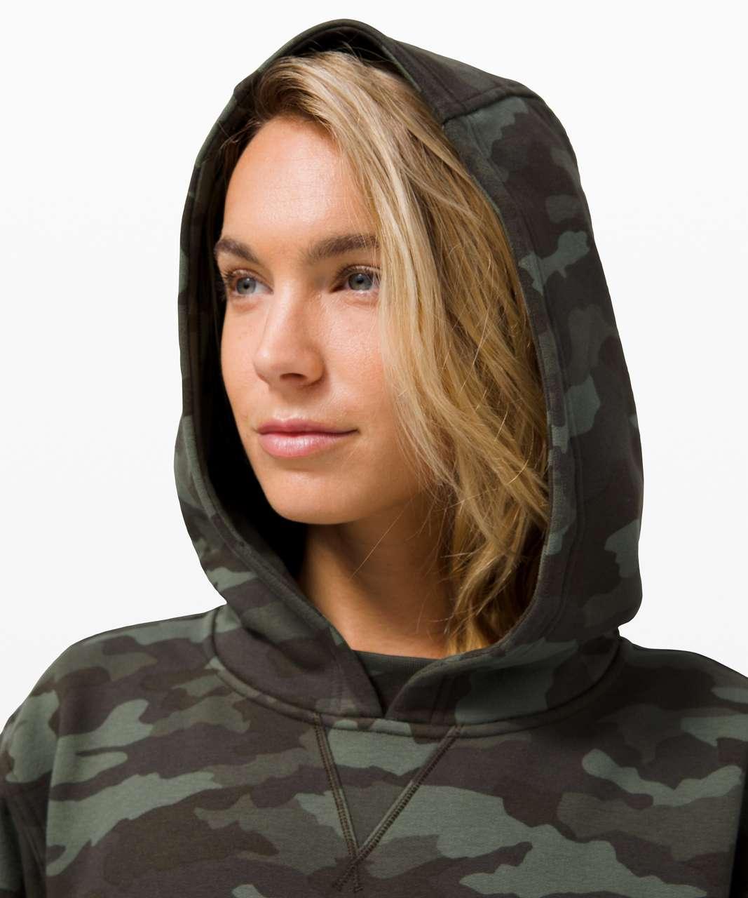 Lululemon All Yours Hoodie *Fleece - Heritage 365 Camo Green Twill Multi