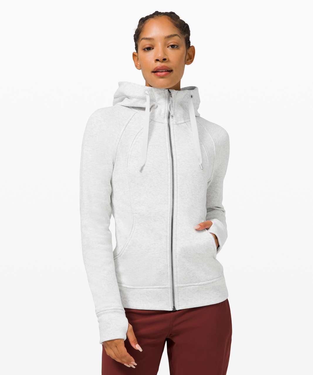 Lululemon Scuba Hoodie *Plush - Heathered Alpine White / Alpine White