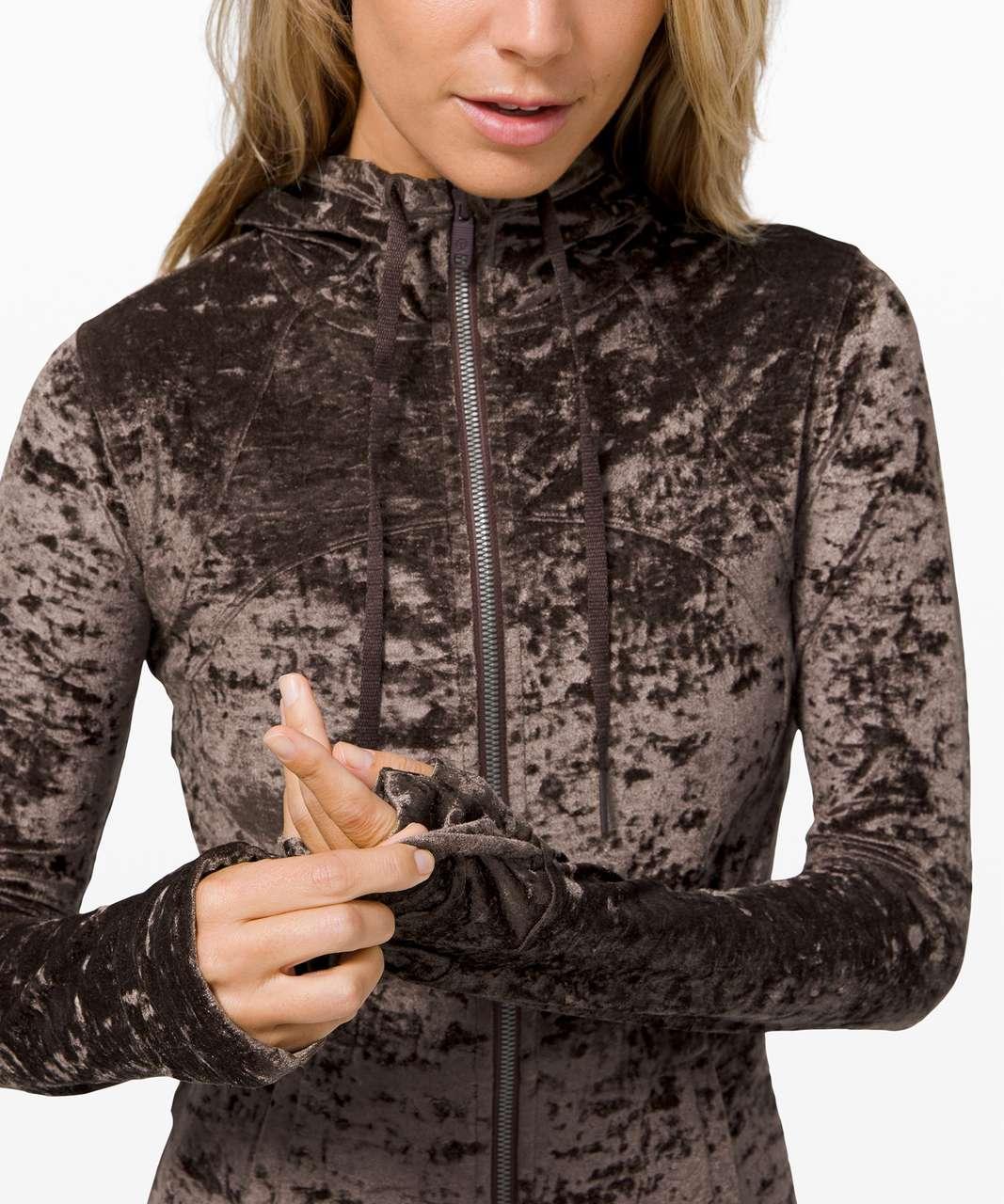 Lululemon Hooded Define Jacket *Crushed Velvet - French Press