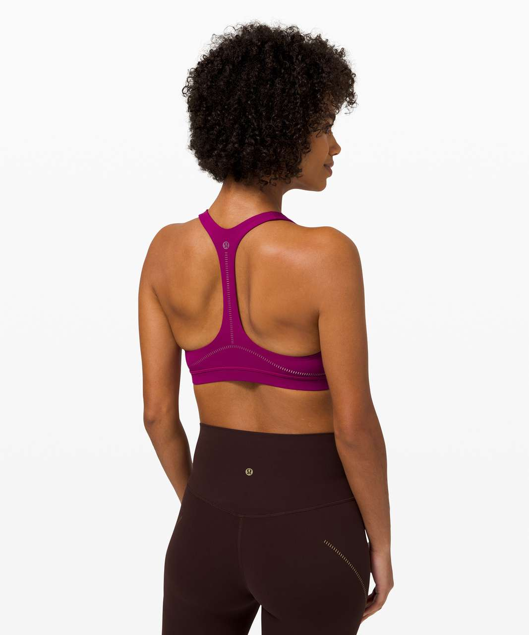 Lululemon Arise Bra *Light Support, C/D Cup - Deep Fuschia