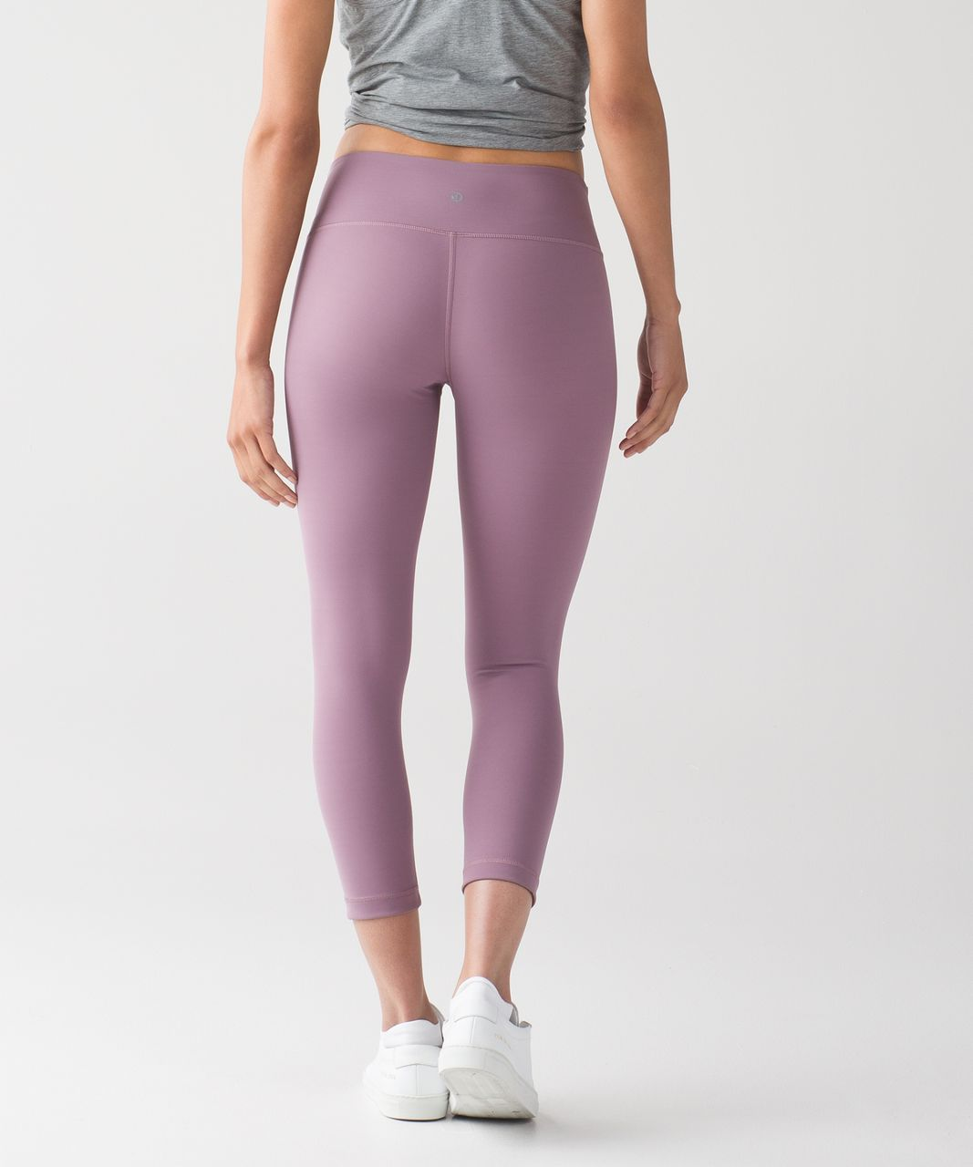 Lululemon Wunder Under Crop III - Dusty Mauve