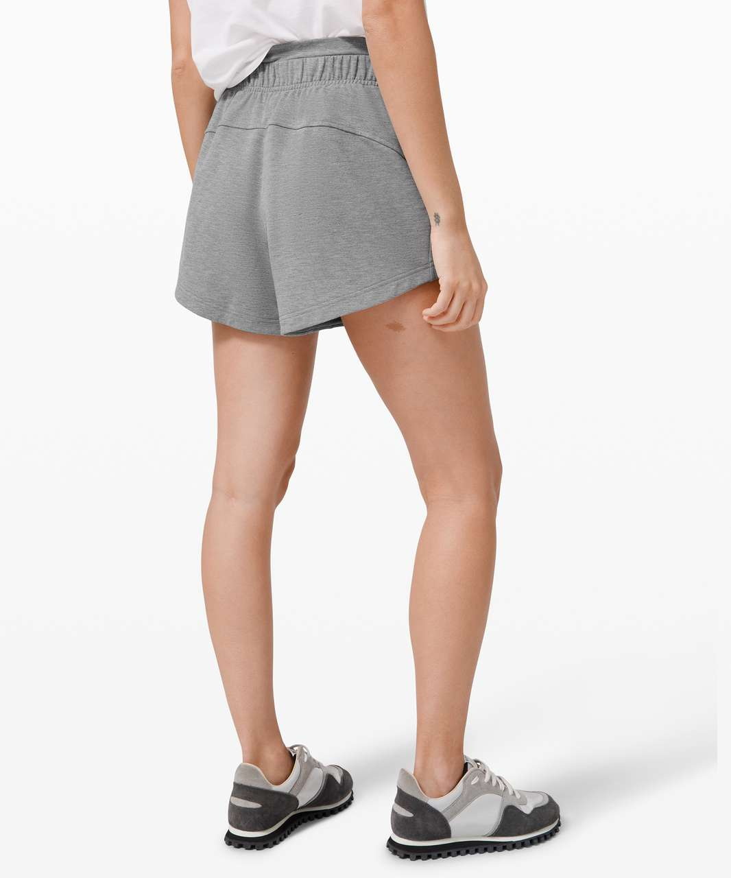 "Lululemon Inner Glow Short 3"" *Modal - Heathered Core Medium Grey"