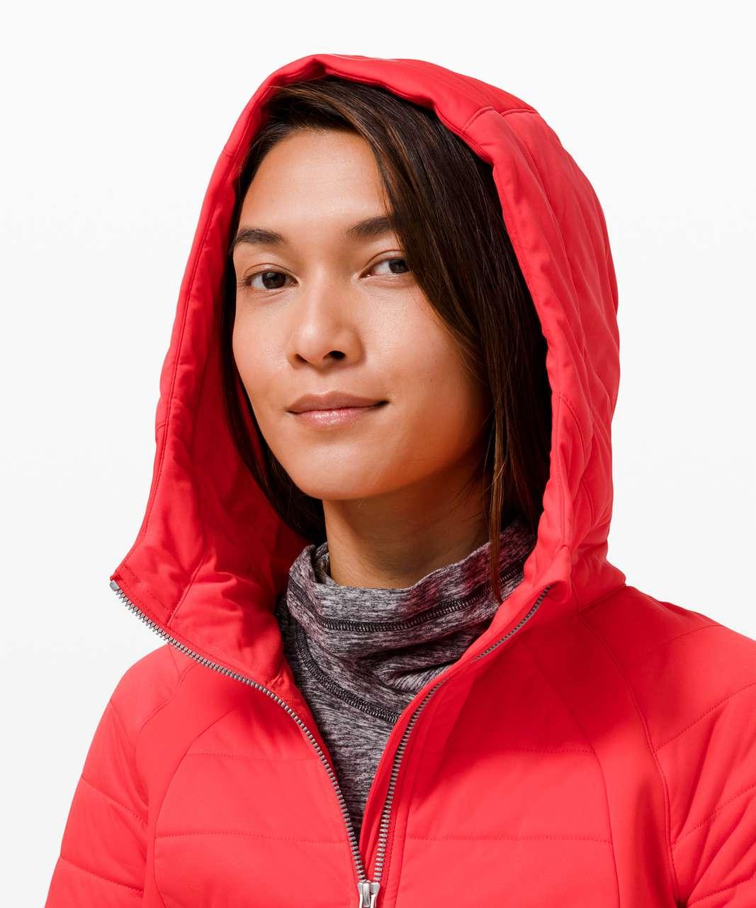 Lululemon Dynamic Movement Zip Hoodie - Love Red