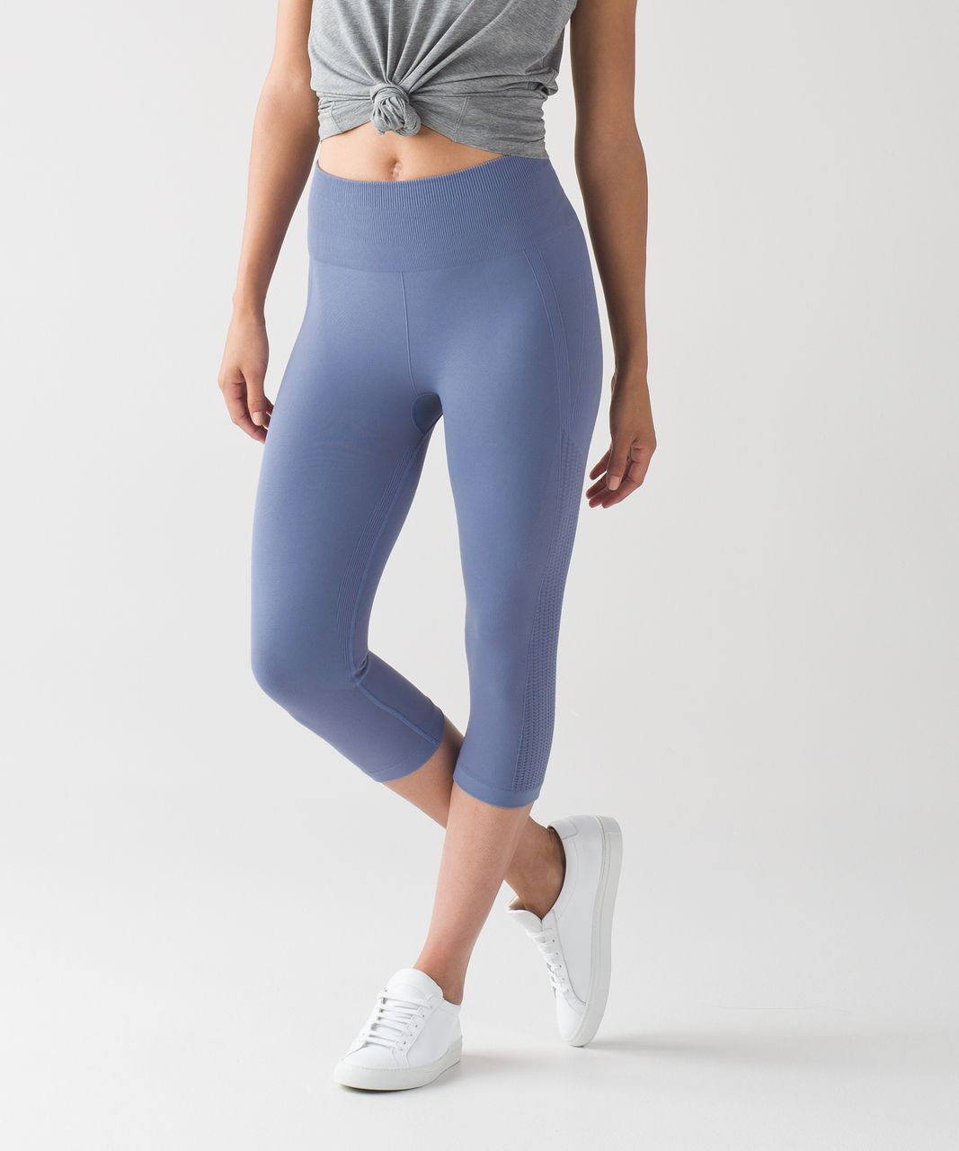 92cb32ea3c Lululemon Flow & Go Crop - Peri Purple - lulu fanatics
