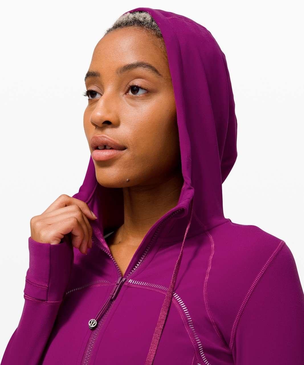Lululemon Hooded Define Jacket *Gold - Deep Fuschia