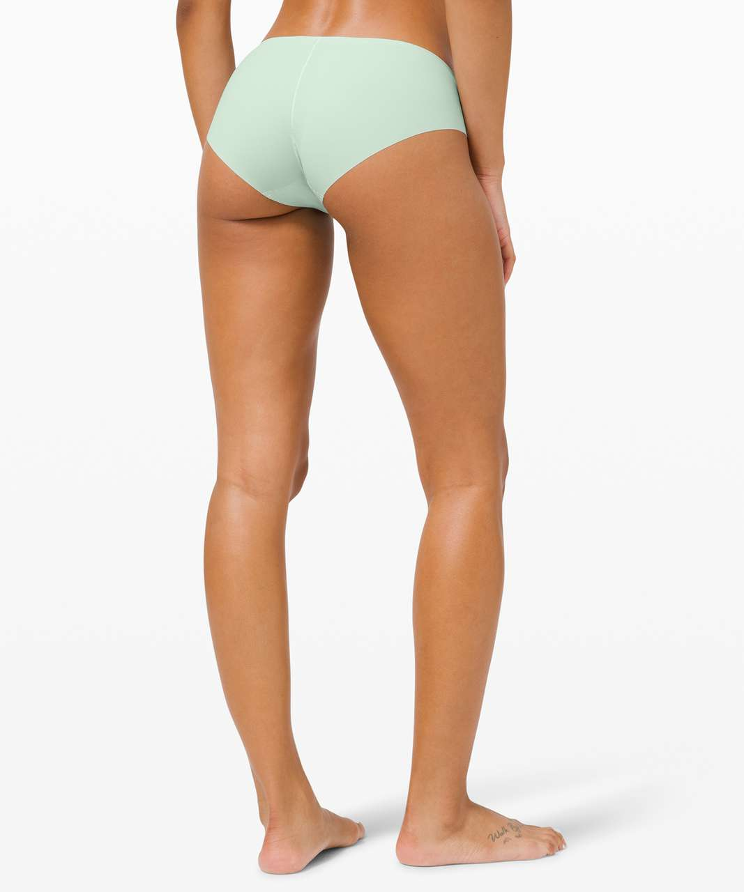 Lululemon Smooth Seamless Hipster 3 Pack - Collage Camo Mini Serene Blue Multi Rotated 90 / Delicate Mint / Pink Pastel
