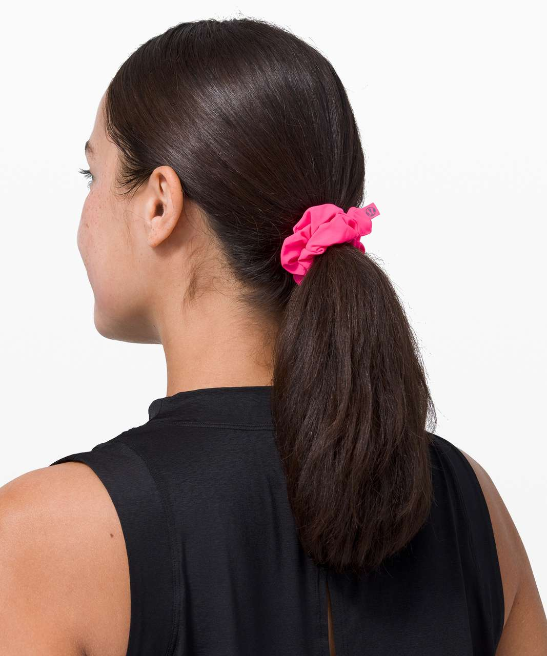 Lululemon Uplifting Scrunchie - Pink Highlight