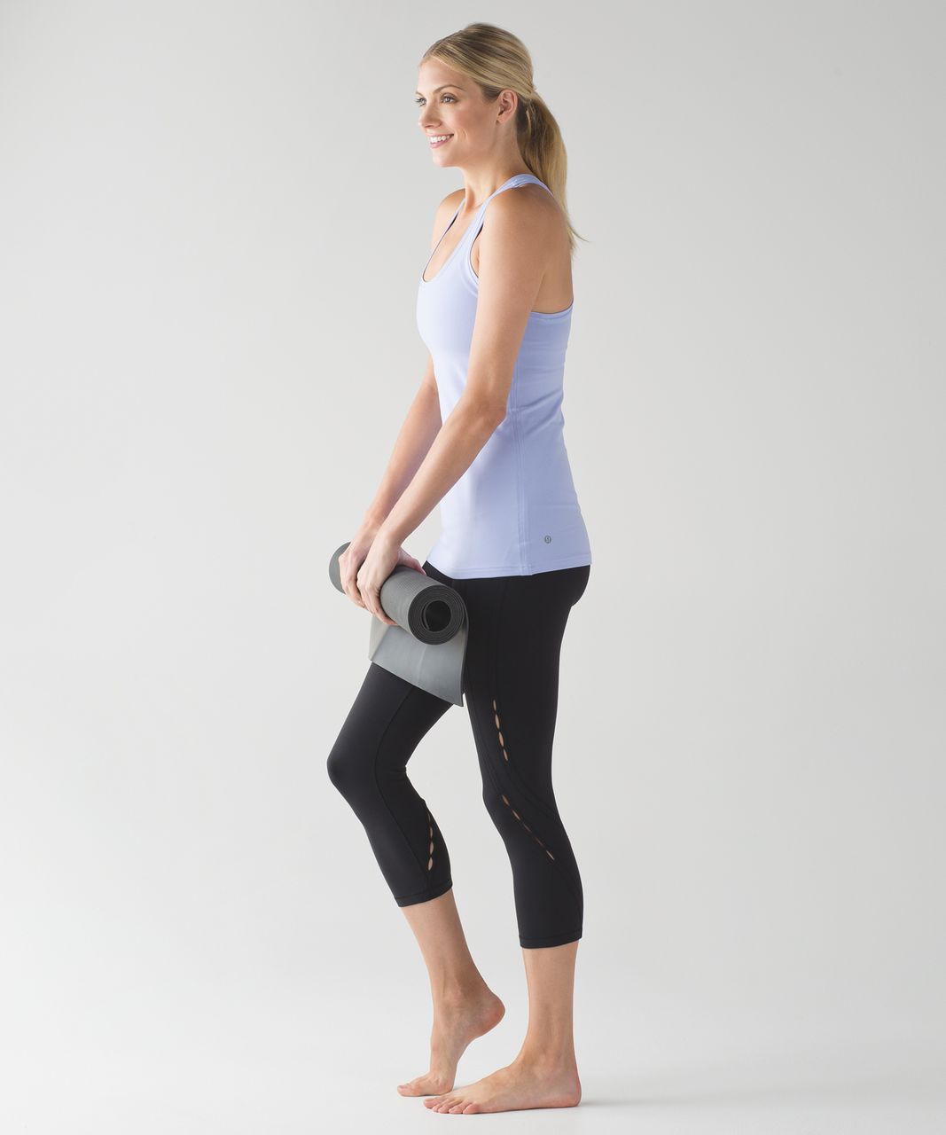 Lululemon Wunder Under Crop (Hi-Rise) (Peek) - Black (First Release)