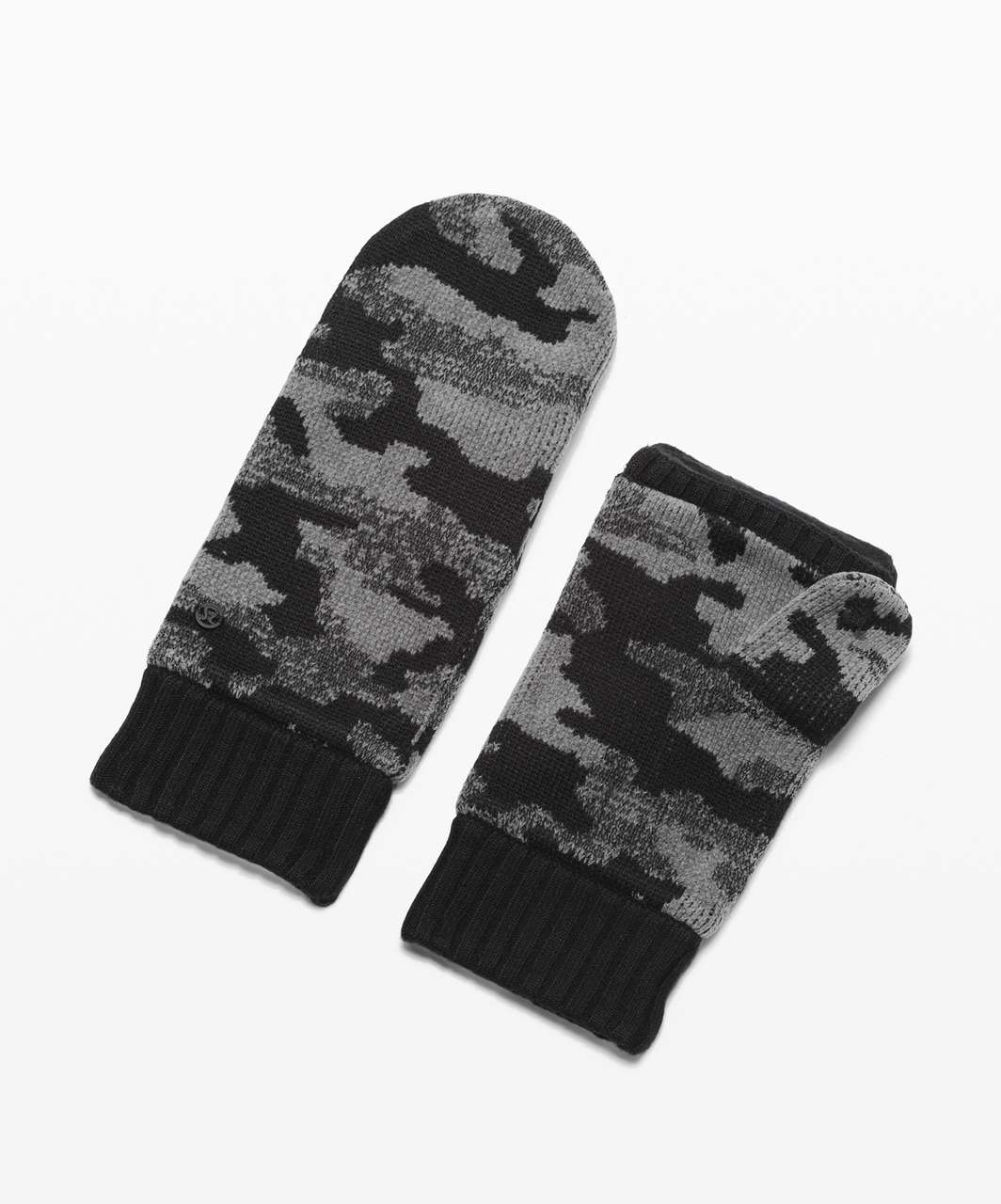 Lululemon Room for Warmth Mitten - Black / Asphalt Grey