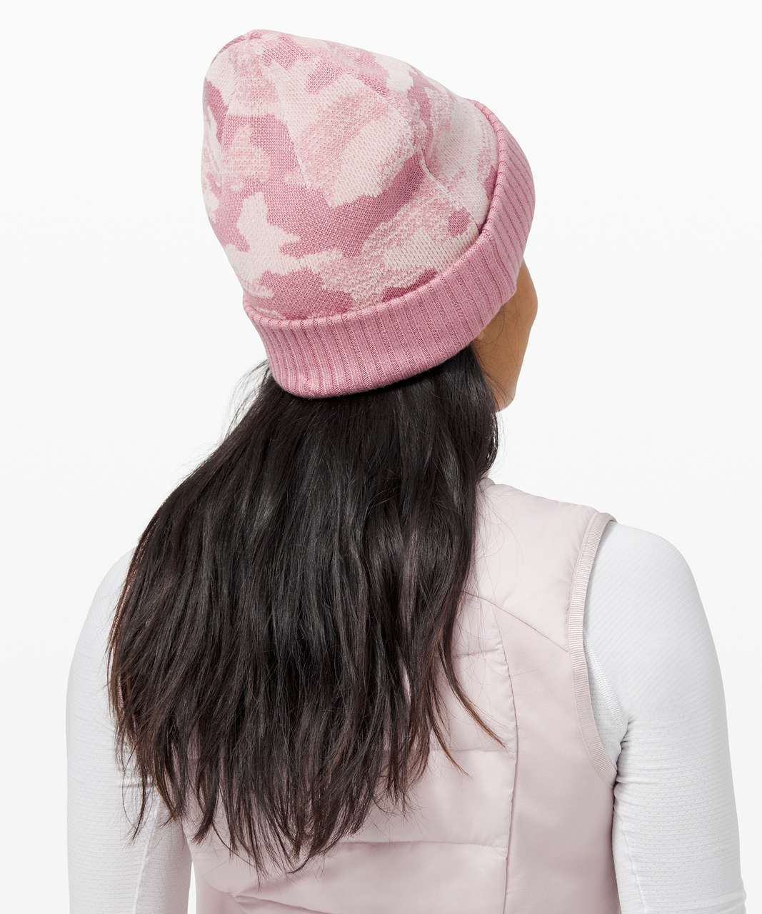 Lululemon Room for Warmth Beanie - Pink Taupe / Porcelain Pink