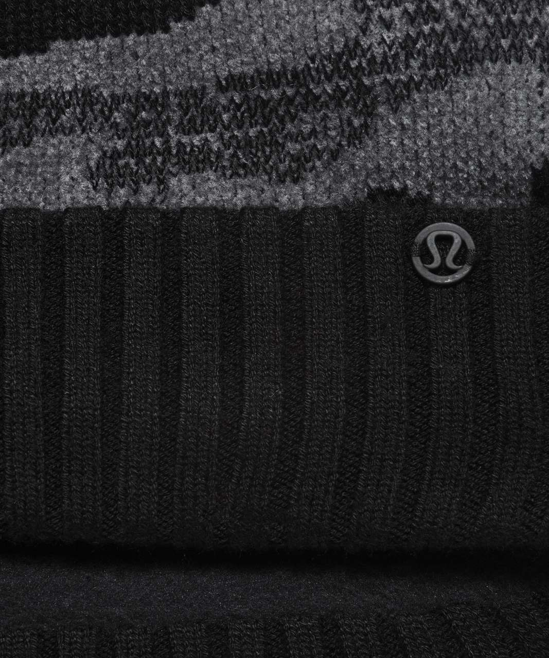 Lululemon Room for Warmth Beanie - Black / Asphalt Grey