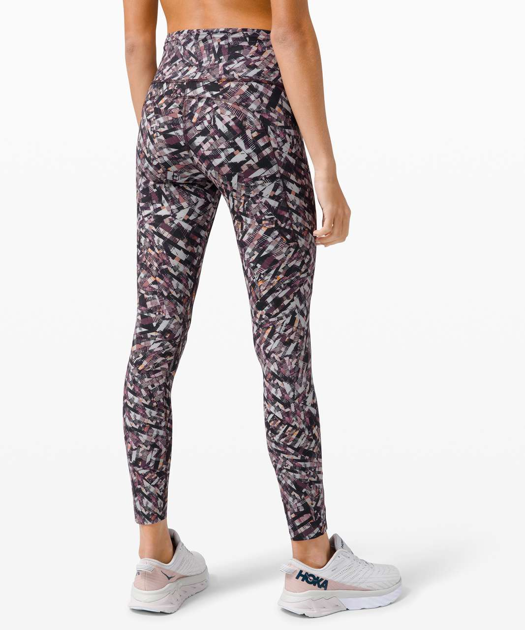 """Lululemon Fast and Free Tight II 25"""" *Non-Reflective Nulux - Kaleidoscopic Pink Multi"""