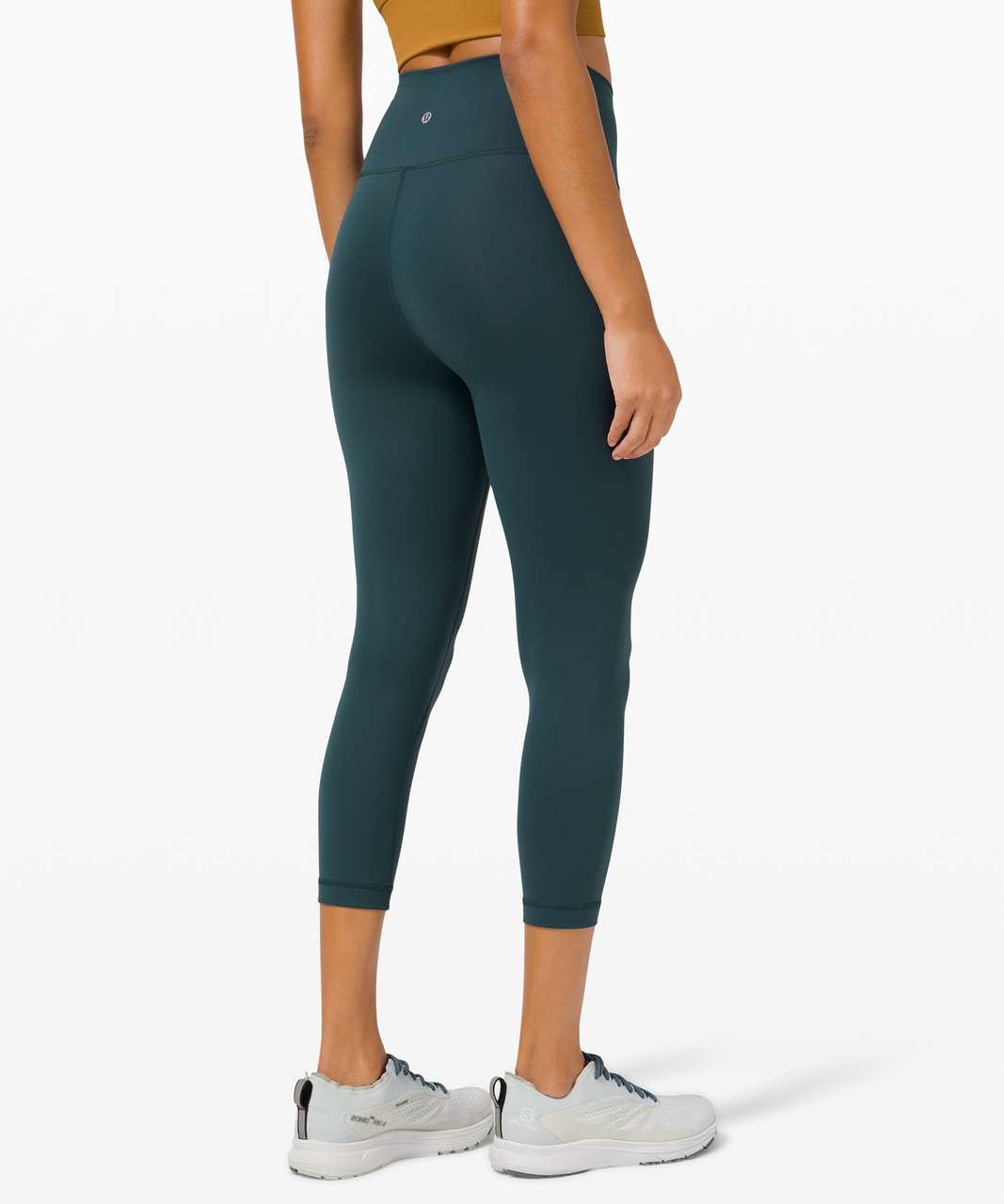 "Lululemon Wunder Train High-Rise Crop 21"" - Submarine"