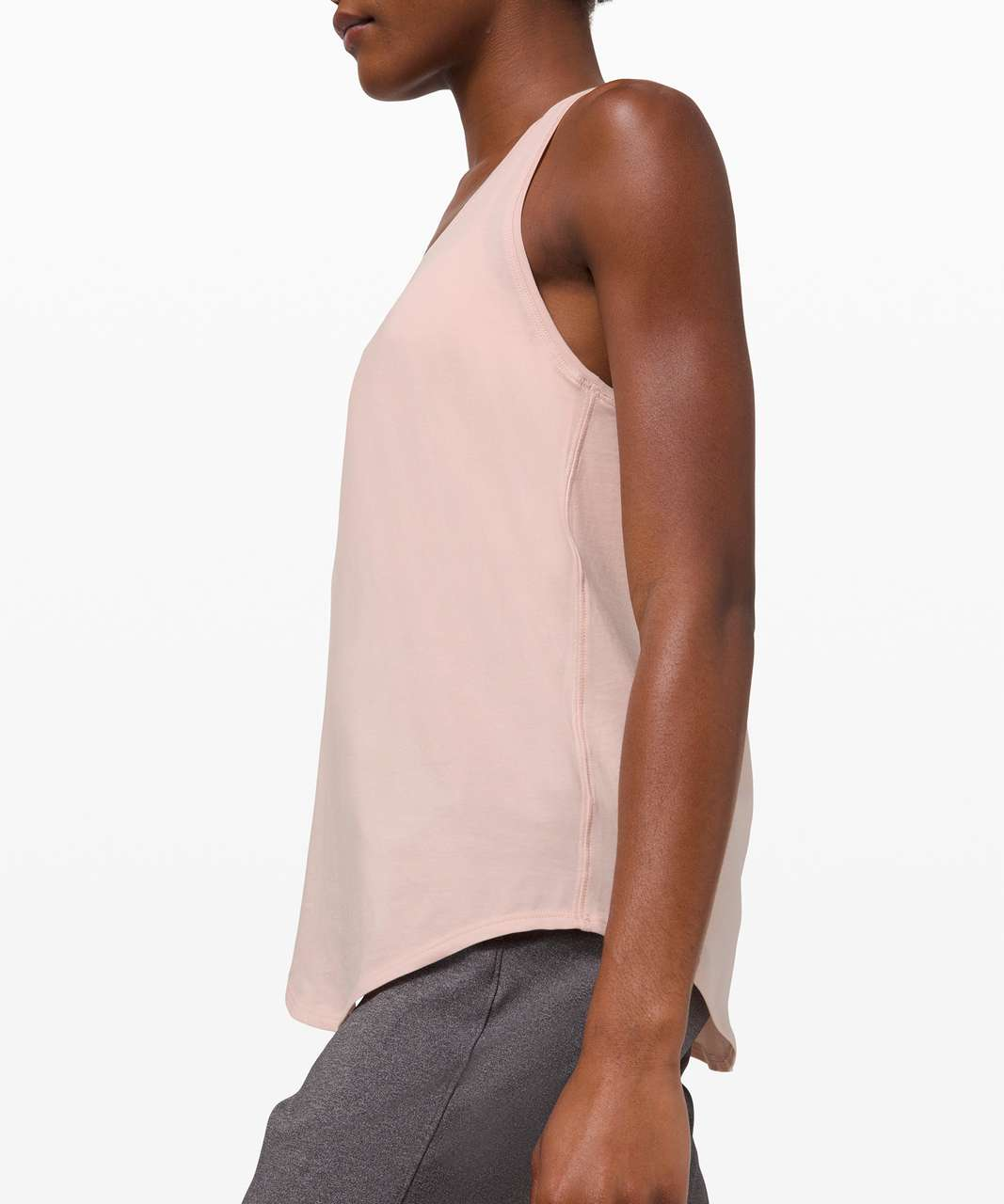 Lululemon Love Tank *Pleated - Feather Pink