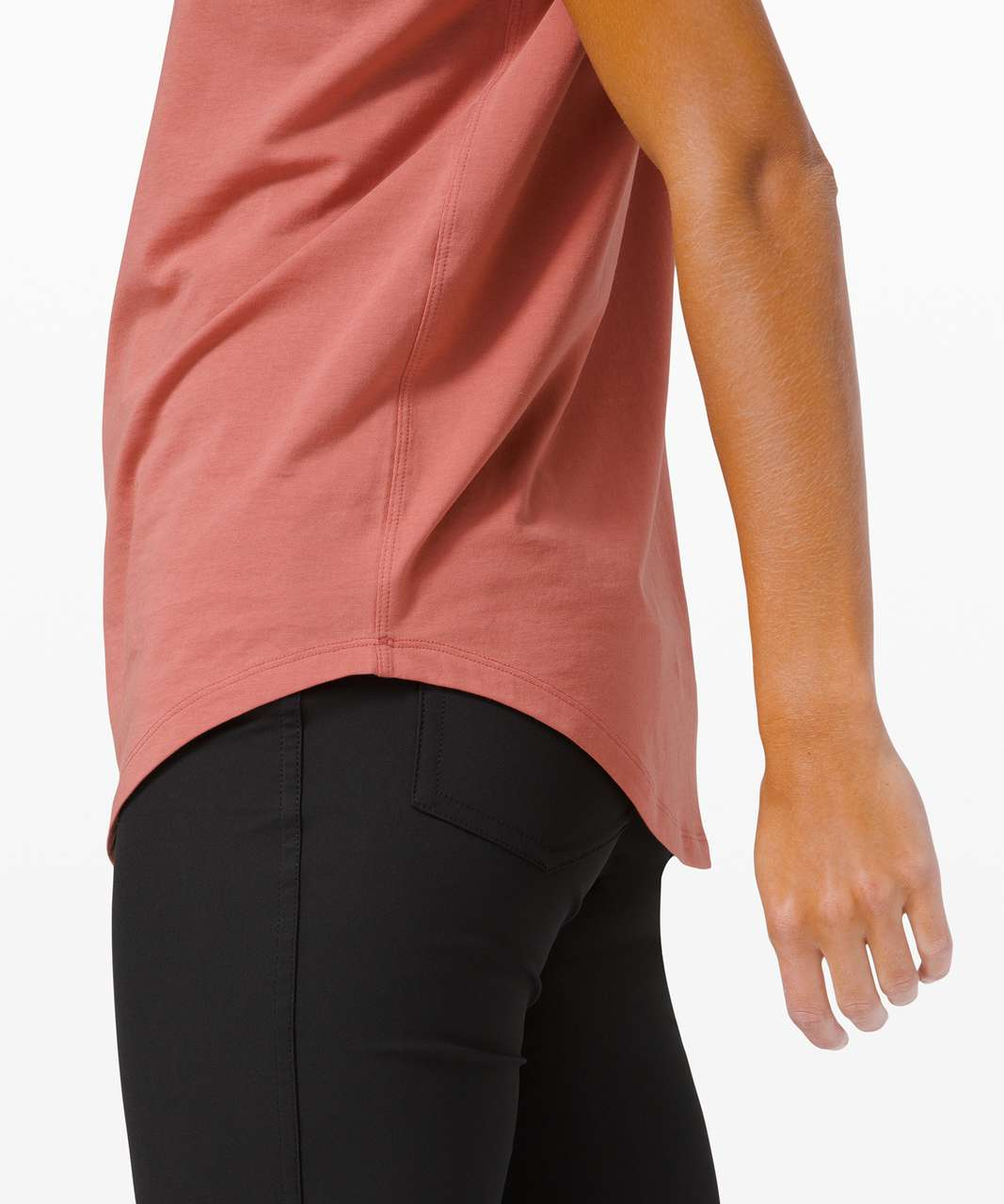 Lululemon Brunswick Muscle Tank - Brier Rose