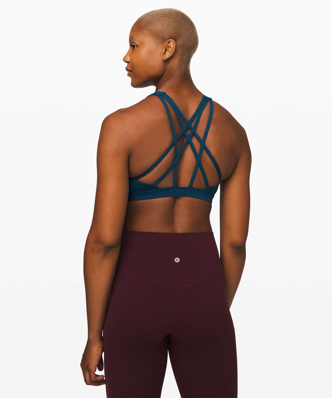Lululemon Free To Be Serene Bra *Light Support, C/D Cup - Night Diver