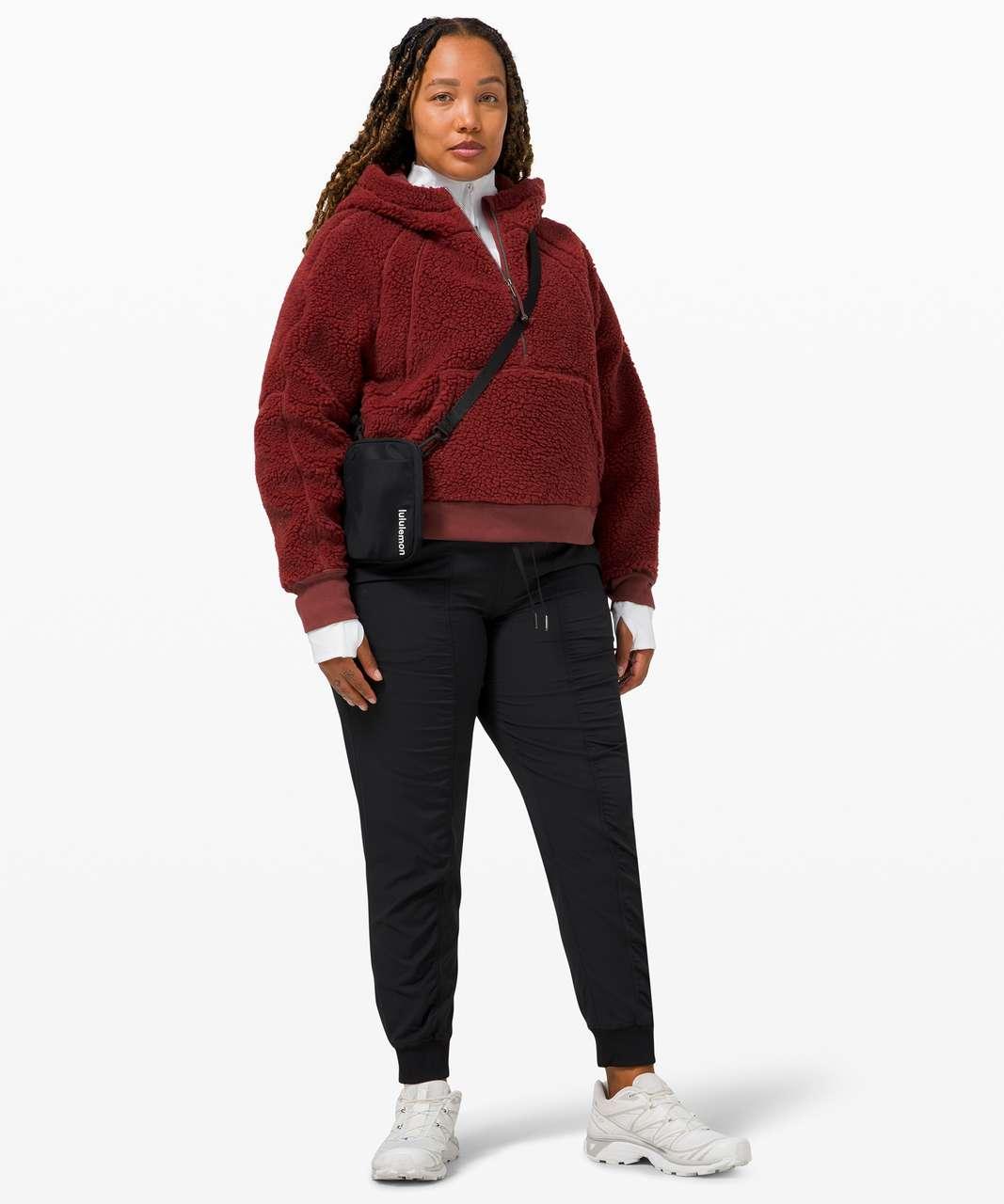 Lululemon Scuba Oversized Sherpa 1/2 Zip - Savannah