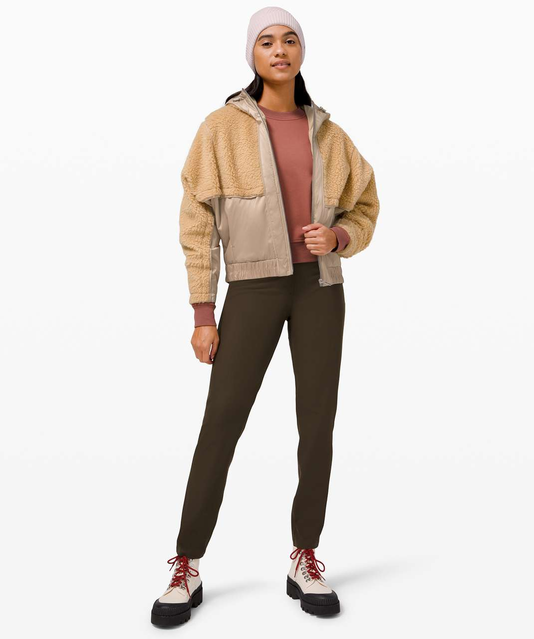 Lululemon Sherpa and Shine Jacket - Trench