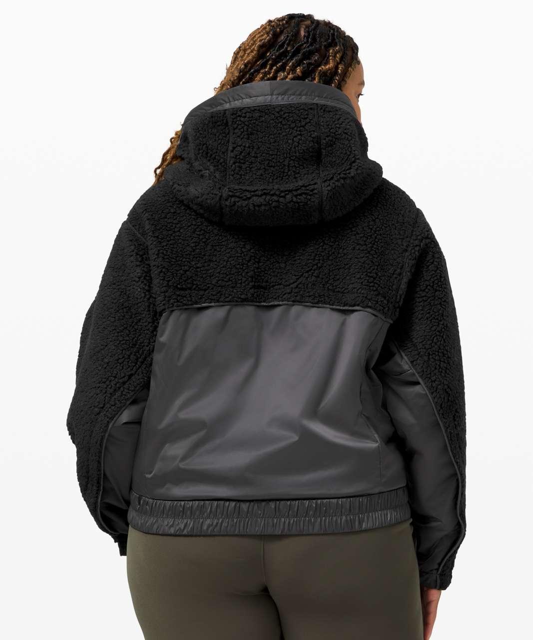 Lululemon Sherpa and Shine Jacket - Black