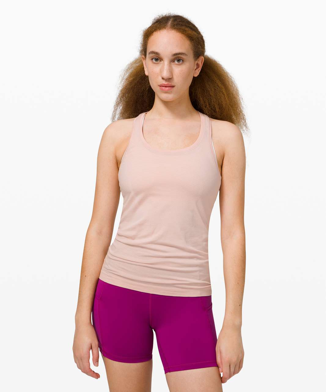Lululemon Swiftly Tech Racerback 2.0 - Feather Pink / Feather Pink