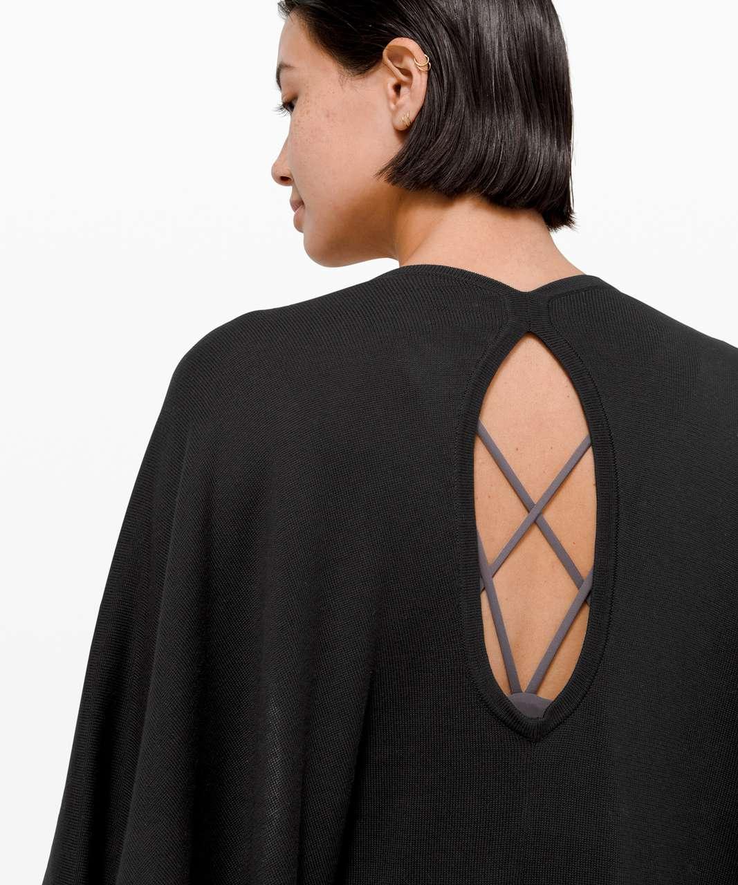 Lululemon Key to Warmth Wrap - Black