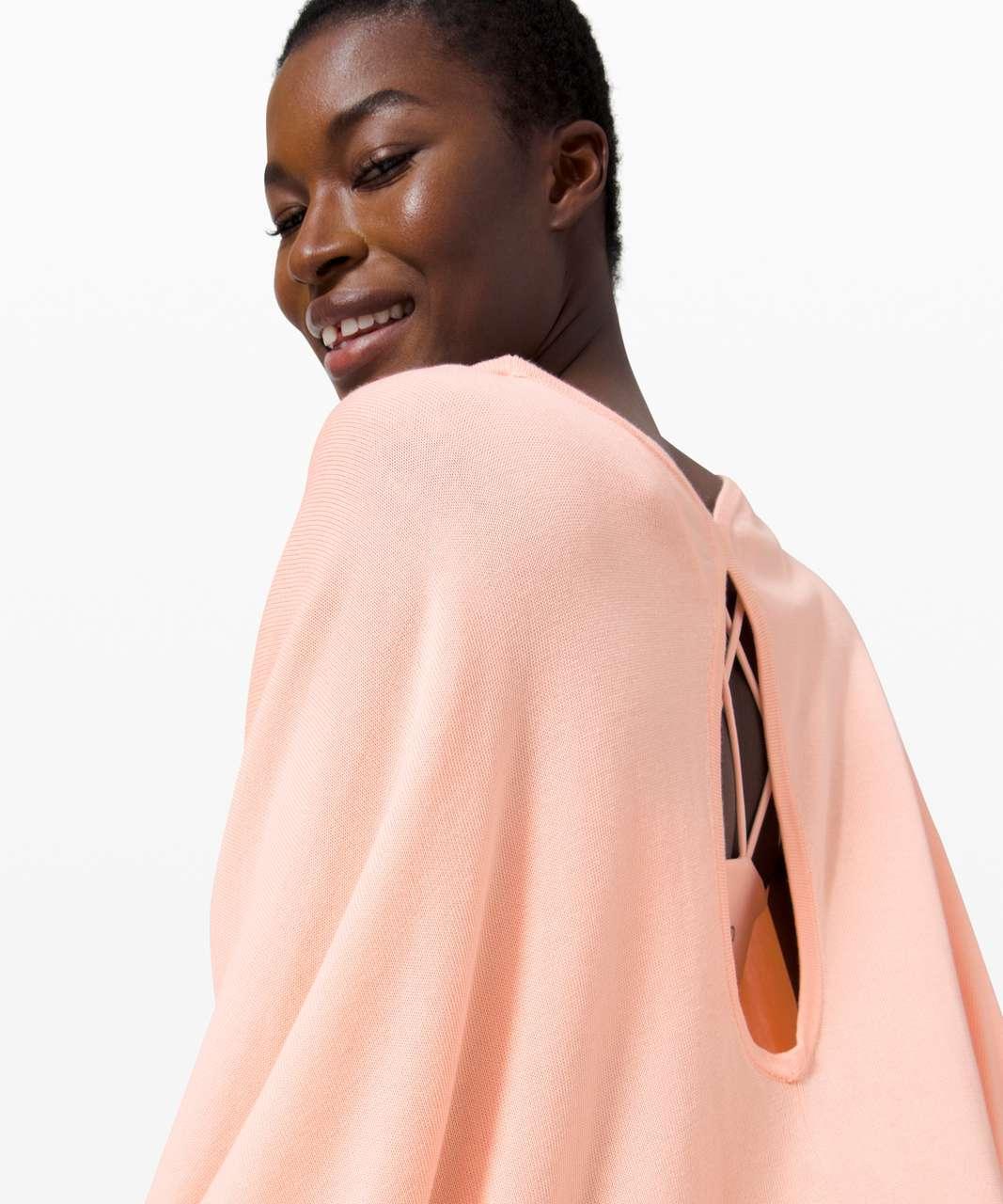 Lululemon Key to Warmth Wrap - Ballet Slipper