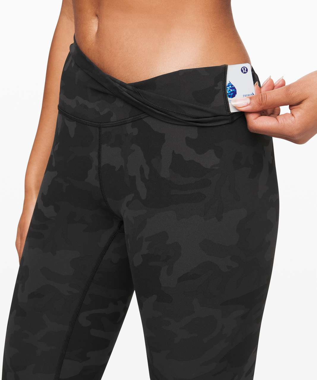 """Lululemon Wunder Under High-Rise Tight 25"""" *Full-On Luxtreme - Incognito Camo Multi Grey"""